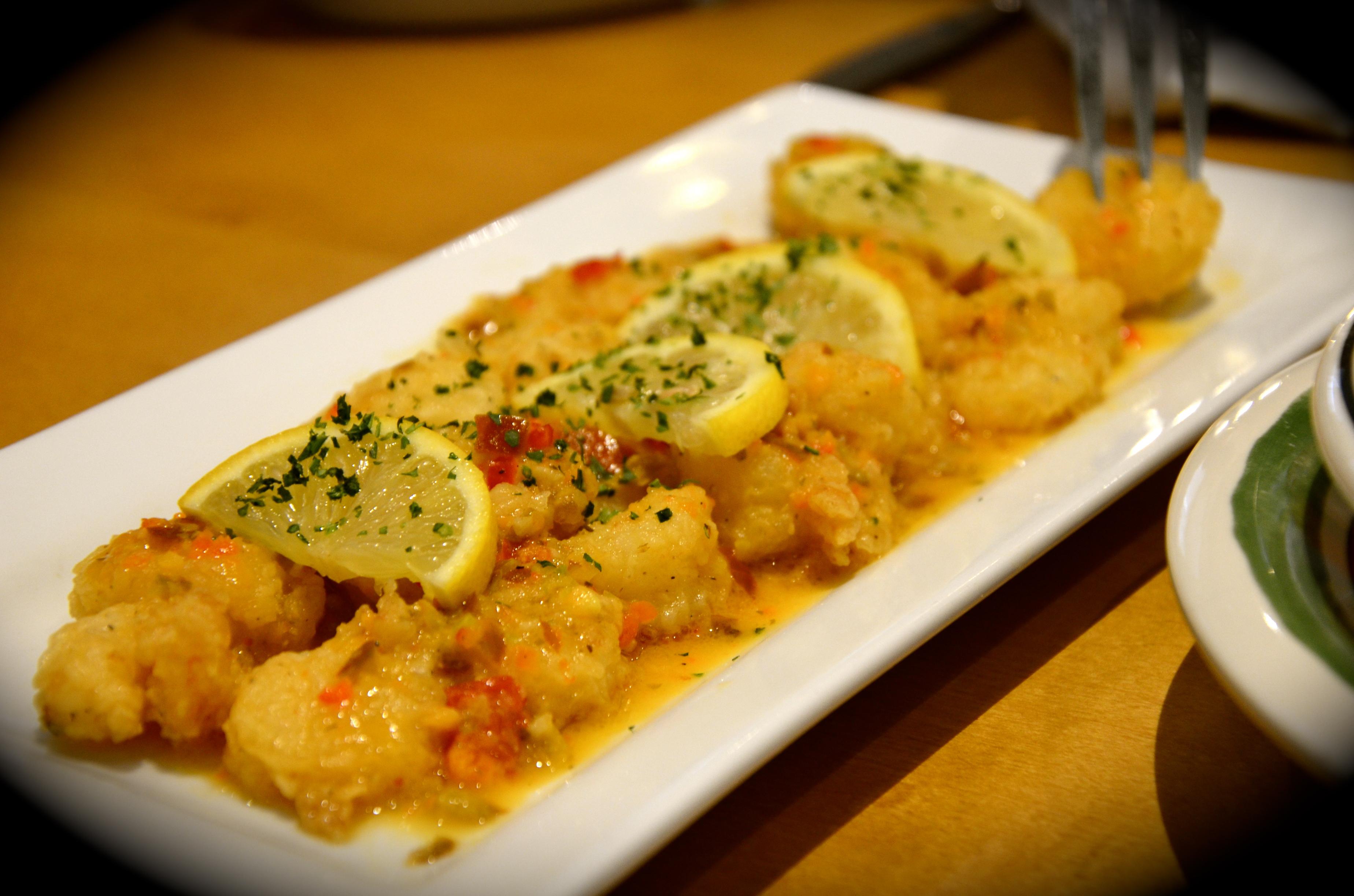 Shrimp scampi fritta dhs 39 - Olive garden shrimp scampi fritta recipe ...