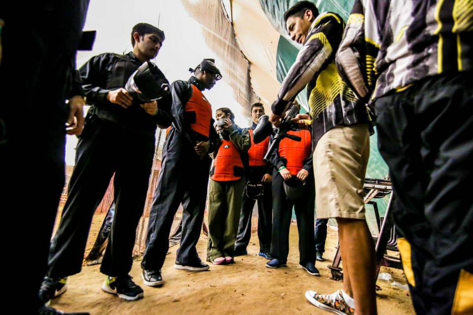 Al Forsan Amazing Race Paintball Team Dubaicravings Com