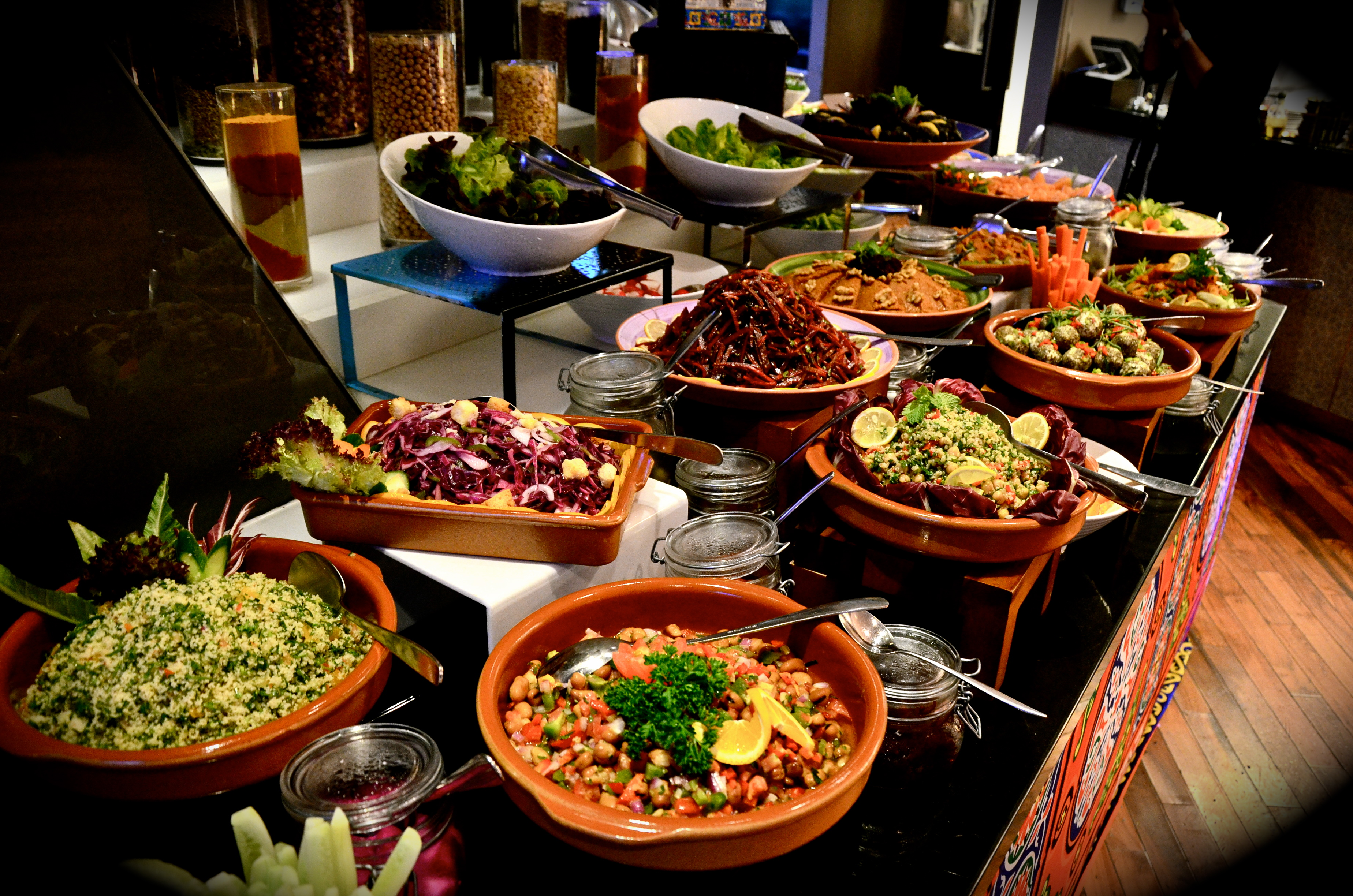 Cold Arabic Mezze Aed 165 Iftar Buffet At Amasi Lounge